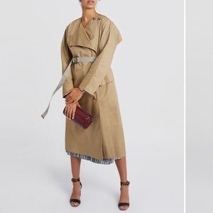 NWT: Rebecca Minkoff Anderson Raincoat / trench